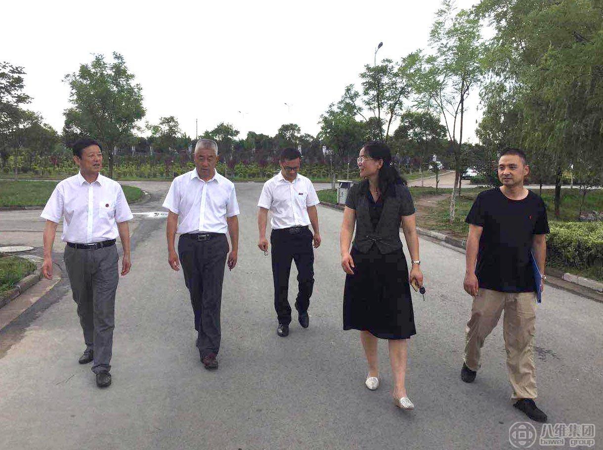 江苏省领导来我集团旗下宿迁职业技术学院指导工作