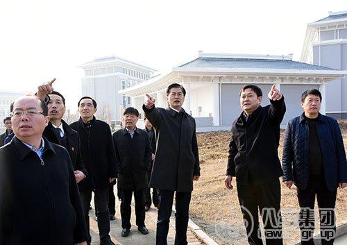 市委书记魏国强调研八维集团旗下宿迁职业技术学院